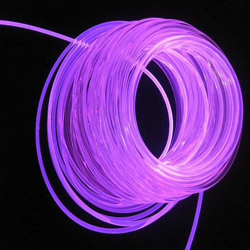 6mm side emitting fibre cable
